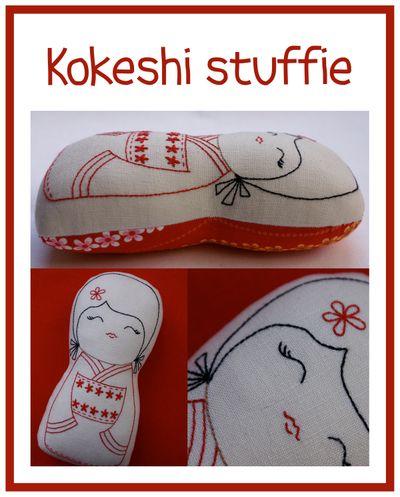 Kokeshi stuffie