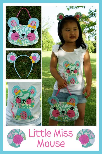 M085 - Little Miss Mouse - blog