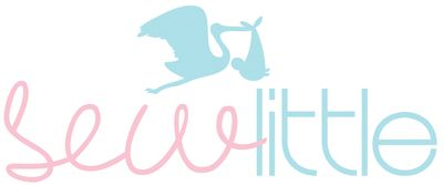 Sew little logo-text and stork (300dpi)