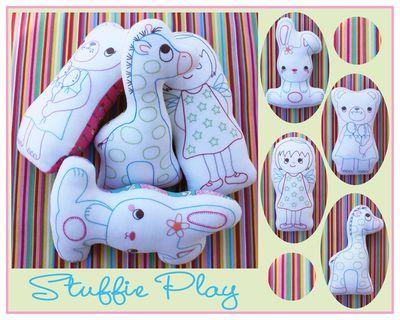 K003 - Stuffie Playblog