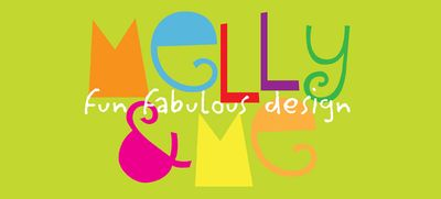 Melly&me logo - green backgroundblog