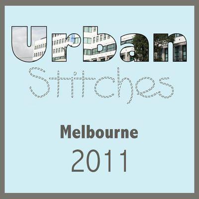 Urban stitches button